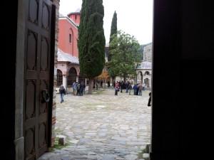Иверский монастырь. Афон